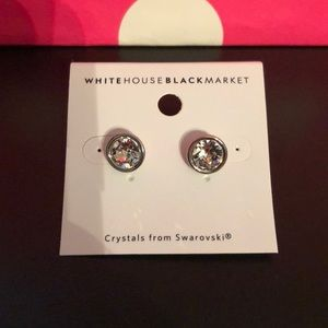WHBM Swarovski Earrings
